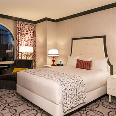 Room view of Paris Hotel and Casino