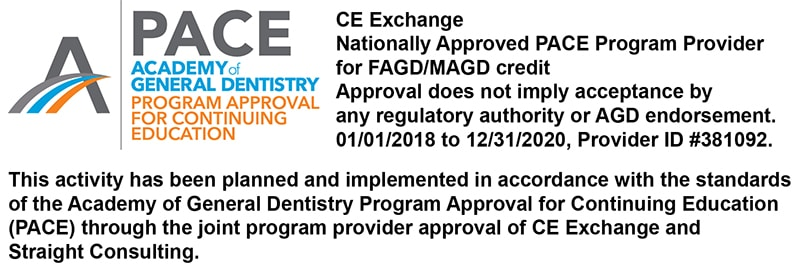 PACE Logo with Disclaimer for CE Exchange Credit